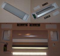Strühm Flat Led 10 W-os natúr fehér konyhapult világítás