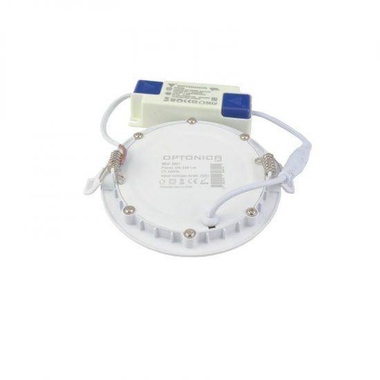 Optonica PRO LINE  LED PANEL / 6W / KÖR / 120mm  / nappali fehér/ 2602