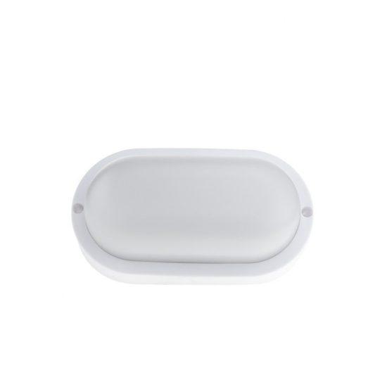Optonica Ovális kültéri LED lámpa / 8W / Ovális / 600lm / hideg fehér/ 2801