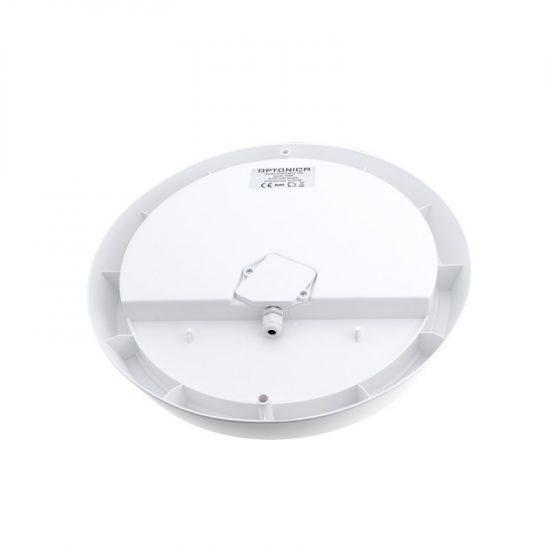 Optonica Mikrohullámú mozgásérzékelővel kültéri LED lámpa / 8W / Kör alakú / 640lm / nappali fehér/ 2809
