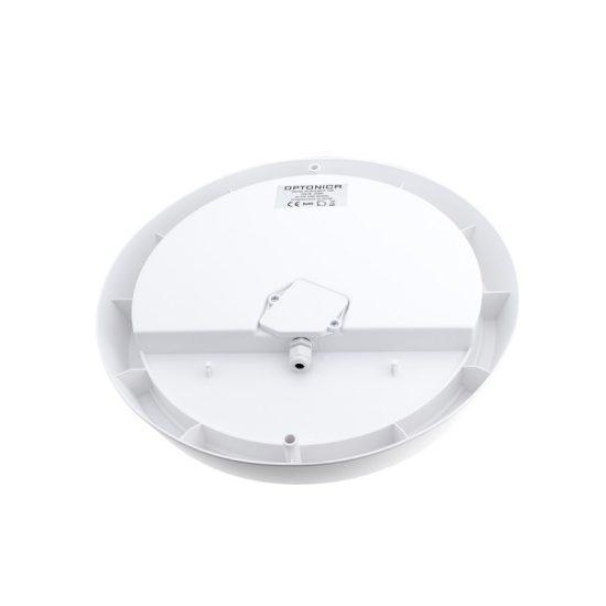 Optonica Mikrohullámú mozgásérzékelővel  kültéri LED lámpa / 13W / Kör alakú / 1050lm / meleg fehér/ 2816