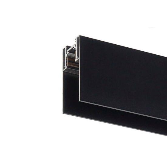 Optonica Mágneses sínrendszer, függeszthető, 2m, fekete, 5352