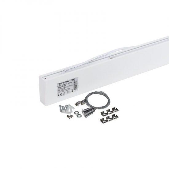 Optonica 50 W -os LED lineáris lámpa Up and Down, felfüggesztéssel, nappali fehér, 5385