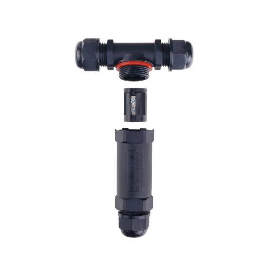 Optonica T-kábel csatlakozó  /1,5mm² / IP68/ 6642
