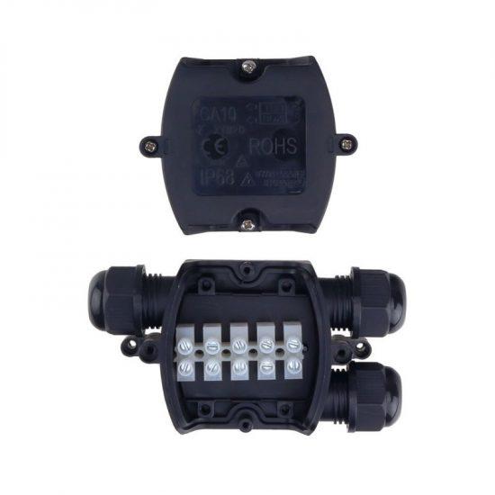 Optonica Kábelelosztódoboz 3 kábelbevezetővel, 1,5-4mm² IP68/ 6644