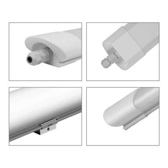 OPTONICA LED Bútorvilágító / 125cm /180°/ 36W / hideg fehér / 6723