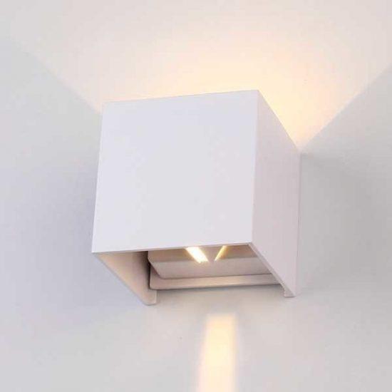 OPTONICA LED Fali Lámpa EPISTAR  6w 494lm  meleg fehér  7451
