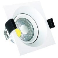 OPTONICA  LED Süllyeszthető spot lámpatest / 8W/ fehér  / hideg fehér /CB3207
