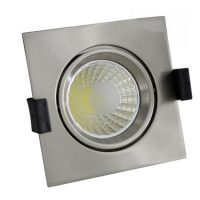 OPTONICA  LED Süllyeszthető spot lámpatest / 8W/ matt króm / nappali fehér /CB3224