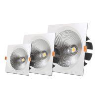OPTONICA  LED Süllyeszthető spot lámpatest / 40W/ fehér / hideg fehér /CB3236