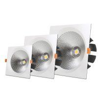 OPTONICA  LED Süllyeszthető spot lámpatest / 40W/ fehér / nappali fehér /CB3236