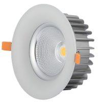 OPTONICA  LED Süllyeszthető spot lámpatest/ 40W / fehér / hideg fehér /CB3260