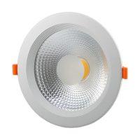 OPTONICA  LED Süllyeszthető spot lámpatest/ 30W / fehér / hideg fehér /CB3276