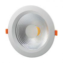 OPTONICA  LED Süllyeszthető spot lámpatest/ 30W / fehér / meleg fehér /CB3278