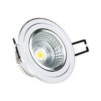 OPTONICA  LED Süllyeszthető spot lámpatest / 5W  / hideg fehér /CB3281