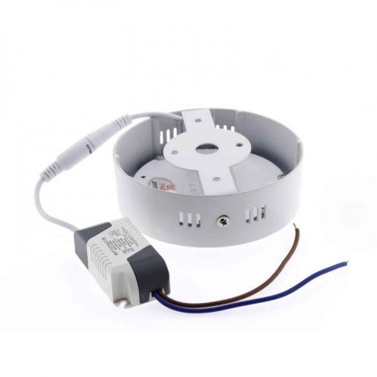 OPTONICA FALON KÍVÜLI LED PANEL / 6W / KÖR / 120mm / hideg fehér/ DL2231
