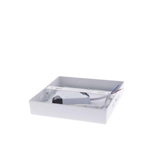 OPTONICA FALON KÍVÜLI LED PANEL / 6W / NÉGYSZÖG / 120x120mm /  meleg fehér /DL2238