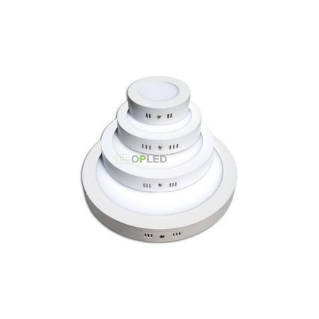 OPTONICA FALON KÍVÜLI LED PANEL / 6W / KÖR / 120mm /hideg fehér/ DL2511