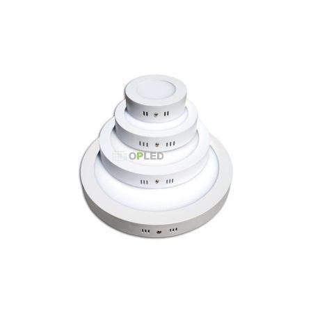 OPTONICA FALON KÍVÜLI LED PANEL / 18W / KÖR / 225mm /meleg fehér/ DL2519