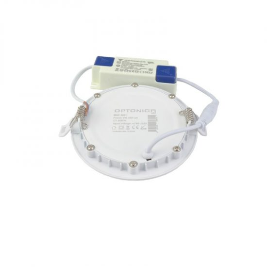 Optonica PRO LINE LED PANEL / 6W / KÖR / 120mm  / meleg fehér/ DL2603