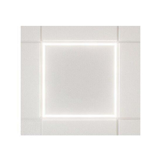 OPTONICA LED KERET PANEL TÁPEGYSÉGGEL /45w/3600lm/600x600/hideg fehér/DL2781