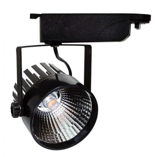 OPTONICA BELTÉRI LED REFLEKTOR / 12W / fekete /   nappali fehér / FL5118