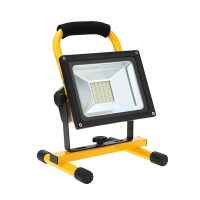 OPTONICA AKKUS LED REFLEKTOR / 10W / Sárga / nappali fehér/ FL5406