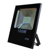 OPTONICA LED REFLEKTOR / 100W /  fekete /   hideg fehér/ FL5443