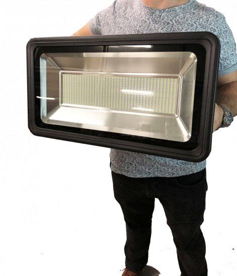 OPTONICA LED REFLEKTOR / 300W /  fekete /   hideg fehér/ FL5447