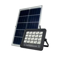 OPTONICA NAPELEMES LED REFLEKTOR / 100W /  fekete / hideg fehér / FL5466