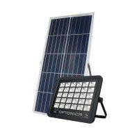 OPTONICA NAPELEMES LED REFLEKTOR / 150W /  fekete / hideg fehér / FL5467