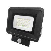 OPTONICA SMD2  LED REFLEKTOR / mozgásérzékelős / 30W /  Fehér / Nappali fehér / FL5860