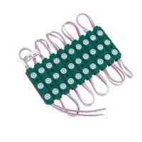 OPTONICA LED MODUL 3-2835/160°/ DC12V / 1,5W / 75x15mm/ zöld /MO4526