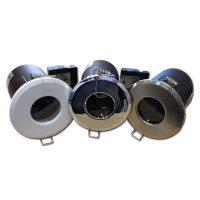 OPTONICA Tűzbiztos álmennyezeti beépíthető spot lámpa GU10 króm / fix / IP65 / OT5067