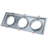 Optonica AR111 beépítő keret / Billenthető / króm / OT5086