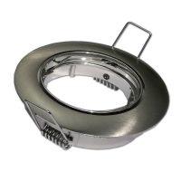 Optonica GU10/MR16/ beépítő keret /  billenthető / nikkel / OT5171
