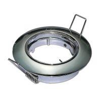 Optonica GU10/MR16 beépítő keret /  billenthető / króm / OT5172