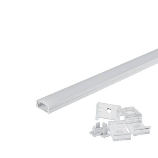 OPTONICA Led profil opál fedővel 7mm-2m , OT5191