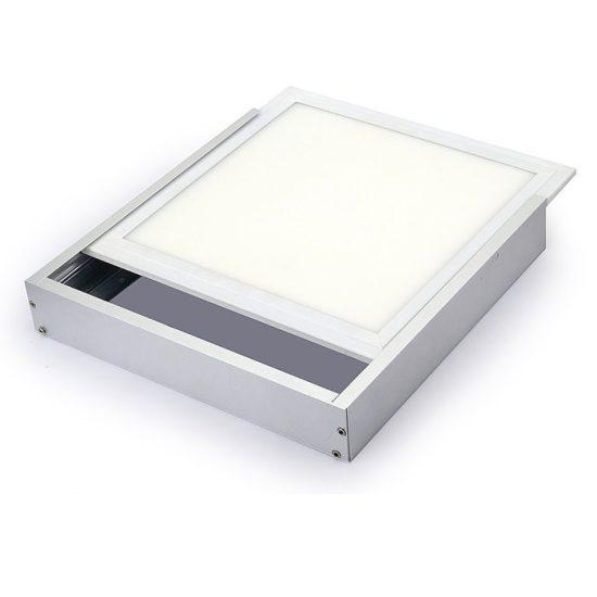 OPTONICA LED panel falon kívüli beépítőkeret / 600x300mm / Alumínium / OT5196