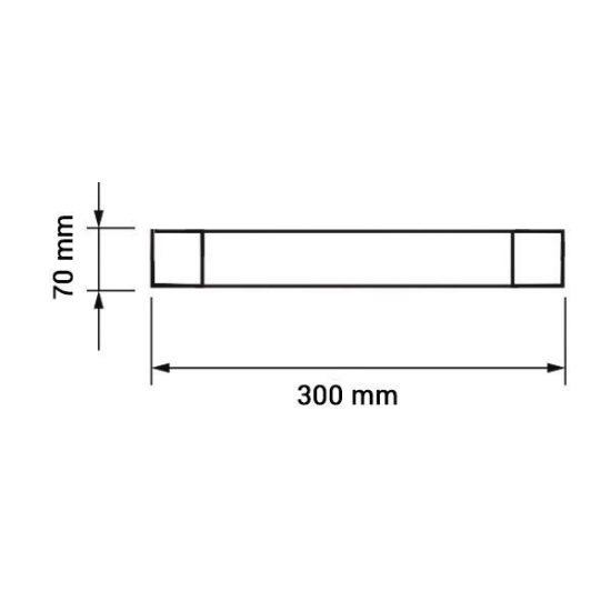 OPTONICA LED Bútorvilágító / 150cm /120°/ 50W / hideg fehér / OT6680