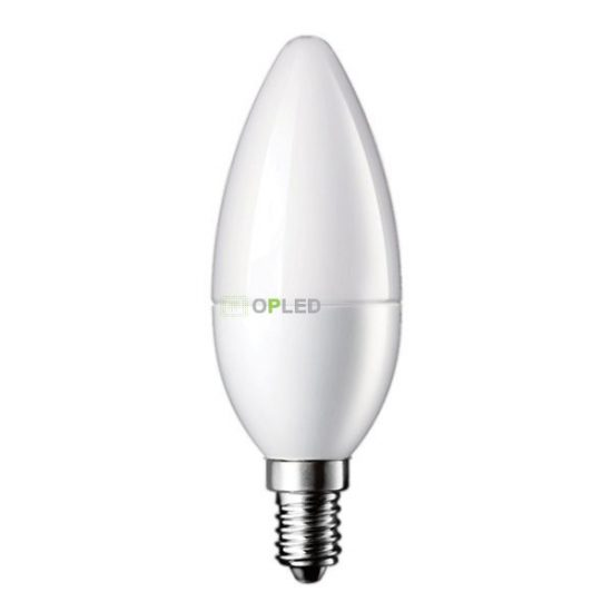 OPTONICA  LED IZZÓ / E14 / 3W / 180°/ hideg fehér/ SP1454