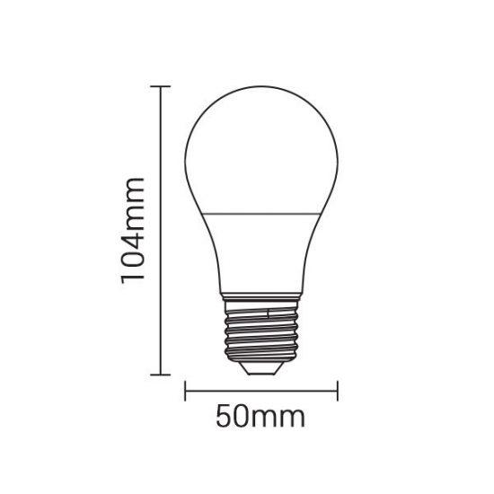 OPTONICA LED IZZÓ / E27 / 7W /60x115mm/ hideg fehér/ SP1715