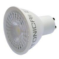 Optonica LED spot / GU10 / 38° / 5W / hideg fehér /SP1935