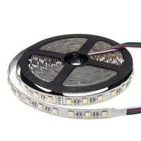 Optonica Prémium SMD LED szalag beltéri /60LED/m/16w/m/SMD 5050/24V/RGB+hideg fehér/ST4481