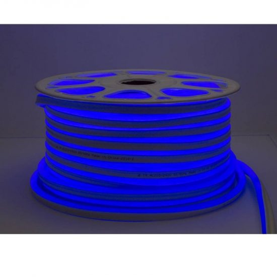 Optonica Flexibilis LED Neon Szalag /kültéri/120LED/m/8,5w/m/SMD 2835/220V/kék/ST4583
