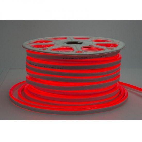 Optonica Flexibilis LED Neon Szalag /kültéri/120LED/m/8,5w/m/SMD 2835/220V/piros/ST4584