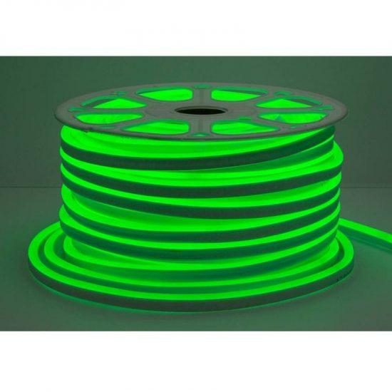 Optonica Flexibilis LED Neon Szalag /kültéri/120LED/m/8,5w/m/SMD 2835/220V/zöld/ST4585