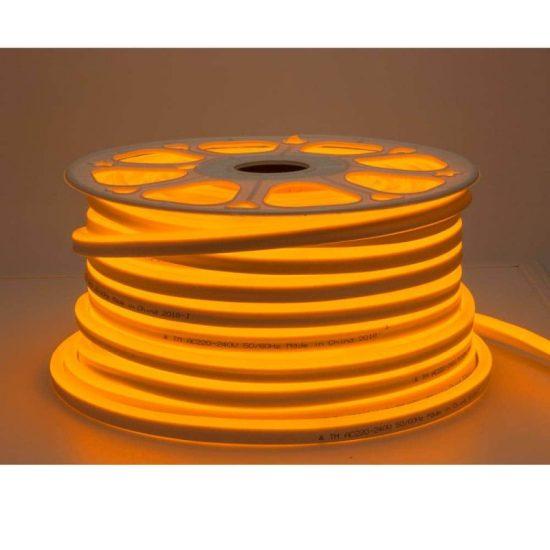 Optonica Flexibilis LED Neon Szalag /kültéri/120LED/m/8,5w/m/SMD 2835/220V/borostyán/ST4586