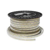 Optonica LED szalag Kültéri  (120LED/m-10w/m) 5370/220V / meleg fehér/ST4612