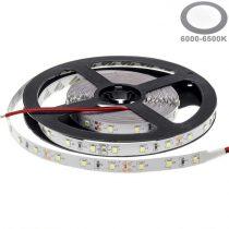 Optonica LED szalag beltéri  (60LED/m-4,8w/m) 3528/12V /hideg fehér/ST4702